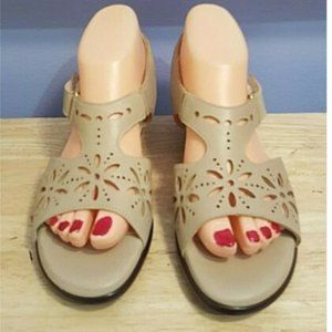 SAS Tri-pad Comfort Leather Strap Sandals 8N